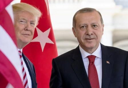 دیدار اردوغان و ترامپ درسایه اختلافات