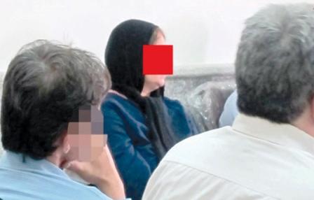 قتل زن ۱۷ساله مقابل چشمان پسرش