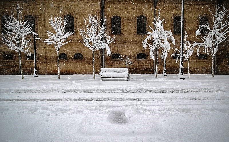 احتمال بارش برف در تهران و بیشتر نقاط کشور