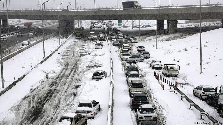 افت ۱۵درجهای دمای هوا و احتمال بارش ۱۳۰سانت برف