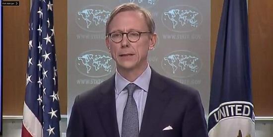 حمایت آمریکا از اعتراضات در ایران از زبانِ برایان هوک