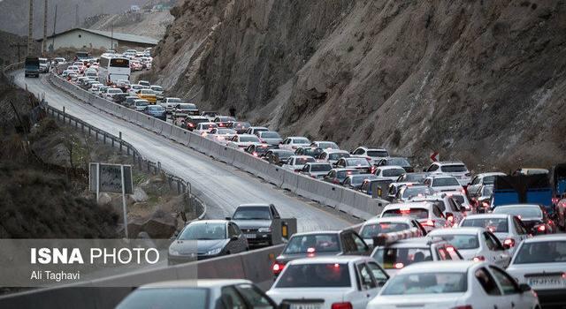 محدودیتهای ترافیکی در محورهای مازندران