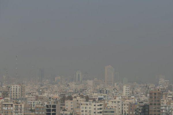 سازمان هواشناسی: آلودگی هوا در ۷ استان کشور
