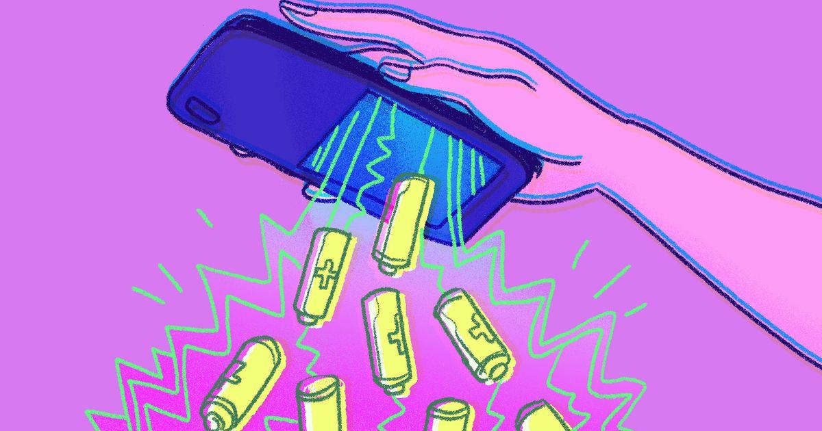 همه چیز درباره باتری موبایل