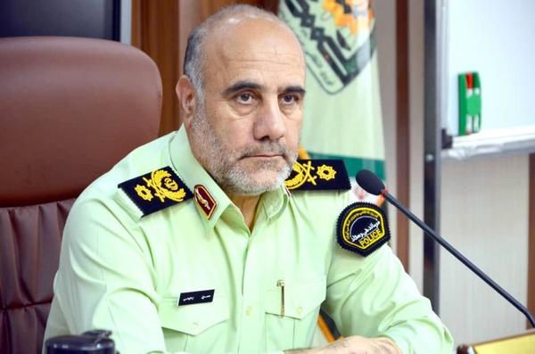 رییس پلیس تهران: پلیس هیچ برخوردی با معترضان نمیکند
