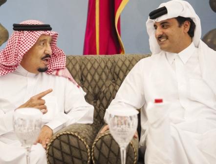 پایان بحران قطر و عربستان