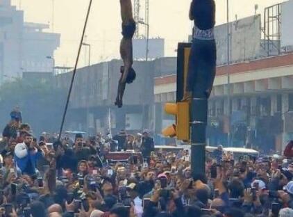 شوک قتل فجیع نوجوان عراقی در میدان الوثبه بغداد