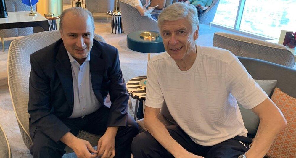 مربی سابق آرسنال در راه ایران ؟