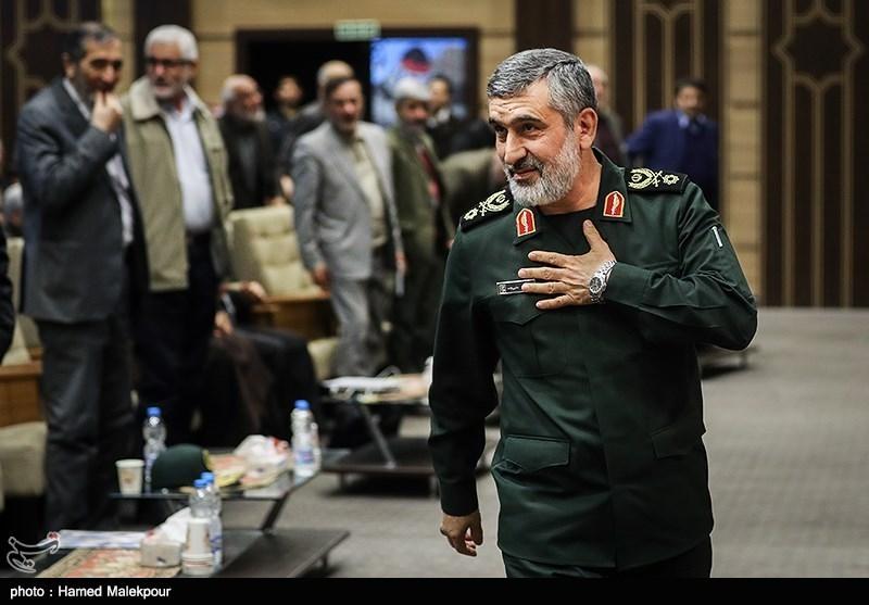 خبر شهادت فرمانده نیروی هوا- فضا سپاه تکذیب شد