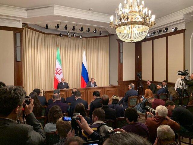 ظریف: ایران و روسیه در خلیج فارس و سوریه به همکاری ادامه میدهند