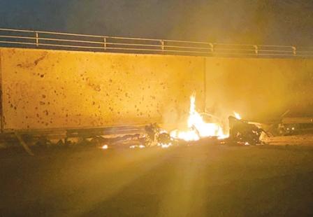 بامداد جمعه، در فرودگاه بغداد چه گذشت؟