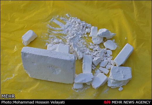فروشنده کوکائین در دام پلیس