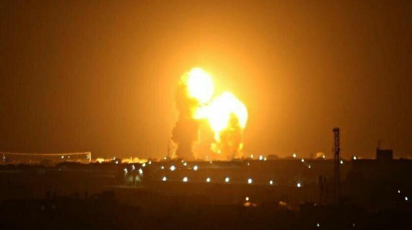 حمله موشکی سپاه به پایگاه عین الاسد