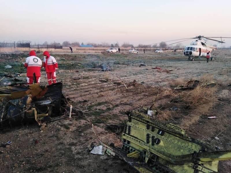 جزییات خبر سقوط هواپیمای اوکراینی در تهران