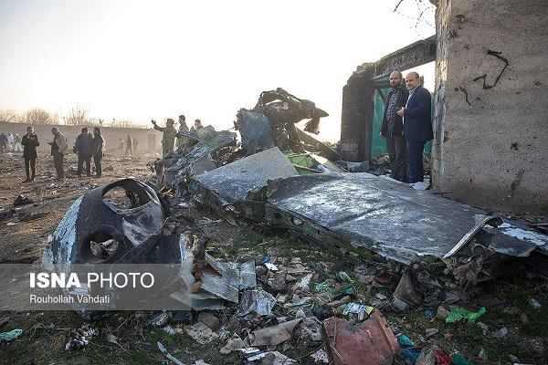 رد برخی شایعات درباره سقوط هواپیمای اوکراینی