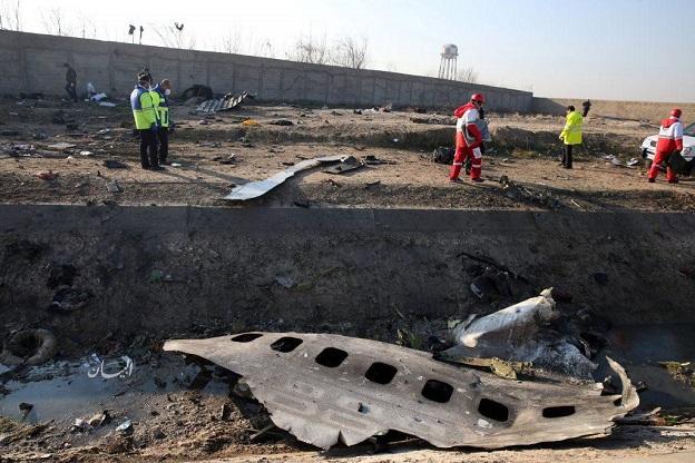 اطلاعیه مهم در خصوص سقوط هواپیمای اوکراینی