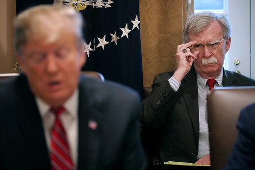 ترامپ از شهادت جان بولتون جلوگیری میکند