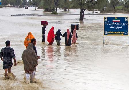 روزهای بیامان سیل در سیستان و بلوچستان