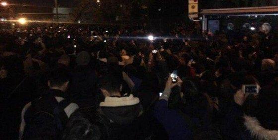 پلیس تهران: در تجمعات، شلیک نکردیم