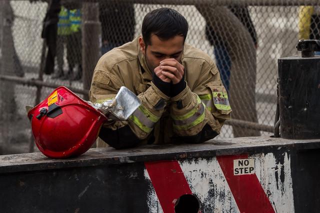 شب تلخ یک امدادگر در صحنه تصادف مادر و برادرش