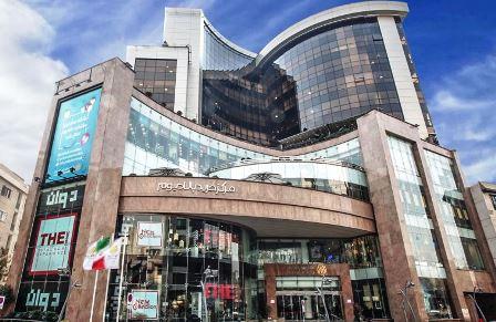 سایه تخریب برسر مرکز خرید پالادیوم تهران