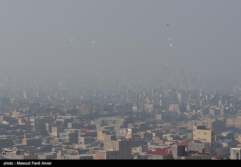 هوای تهران امروز هم ناسالم است