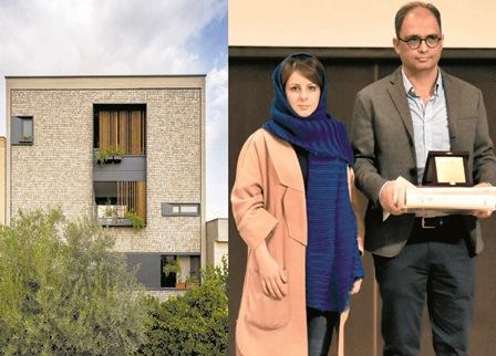 زوج شیرازی برنده جایزه بهترین معمار سال