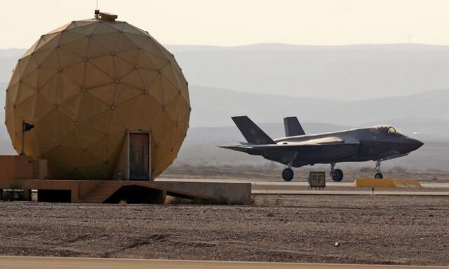 پرواز شبح بر فراز تأسیسات هستهای اسرائیل!