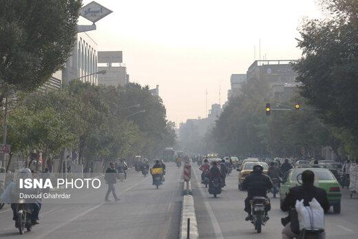 اطلاعیه هواشناسی درباره آلودگی هوا درچندشهرکشور