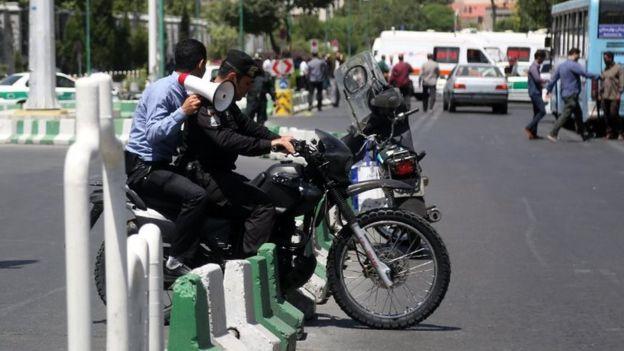 کشف بسته مشکوک در منطقه تجریش تهران
