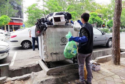 شهرداری تهران با زبالهگردی مقابله میکند