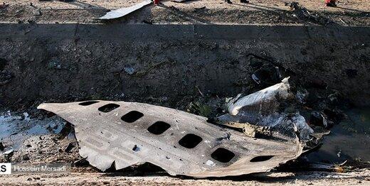 روایتی جدید از سقوط هواپیمای اوکراینی