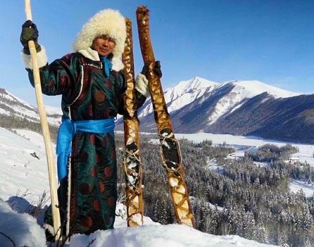 در این روستا، همه اسکی میکنند
