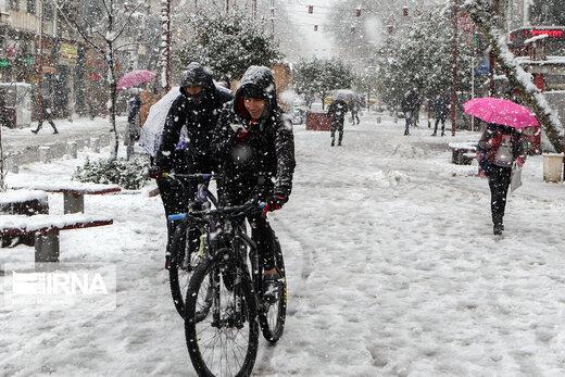 هشدار هواشناسی،بارش برف شدید در راه است