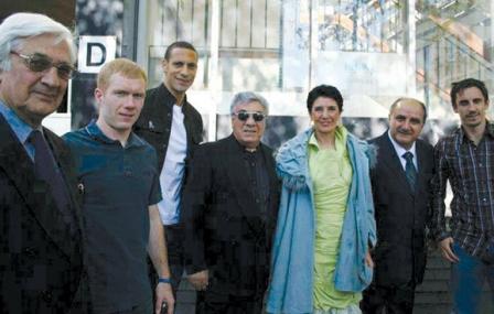 استادان موسیقی ایرانی و ستارههای منچستر یونایتد