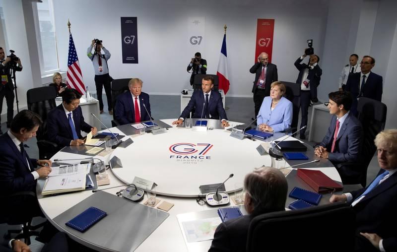 ترامپ  نشست G7 را لغو کرد
