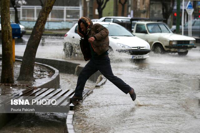 هشدار/پیشبینی بارش شدید در ۱۳ استان