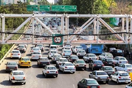 معماهای پیچیده ترافیک تهران در روزهای قرنطینه
