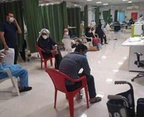 تصویری خاص از بیمارستان رازی اهواز