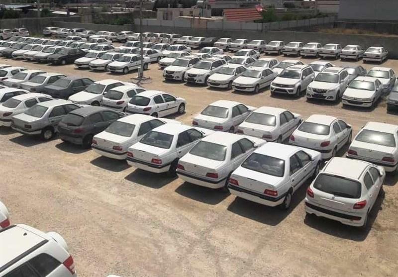 نحوه فروش خودروهای احتکاری کشف شده