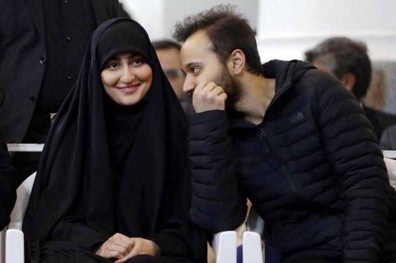 ازدواج زینب سلیمانی با پسر نفر دوم حزبالله لبنان