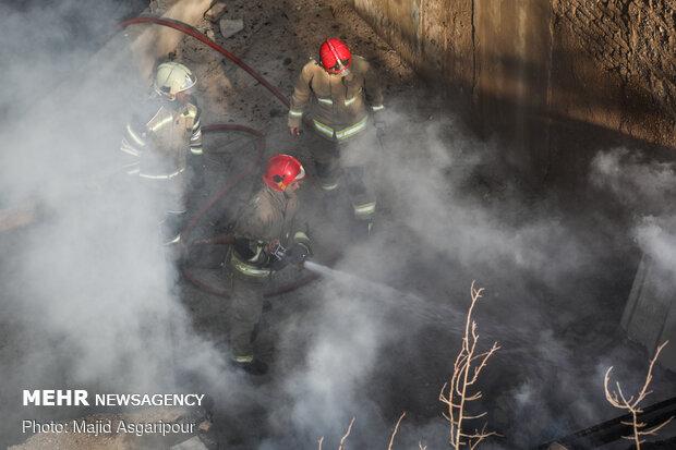 جزییات آتشسوزی در مرکز درمانی سینا اطهر