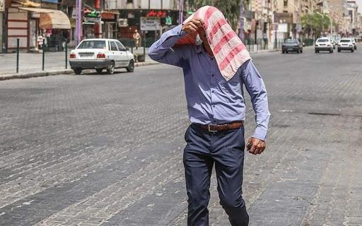 دمای خوزستان از ۵۰درجه سانتیگراد گذشت