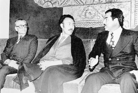 اولین رویارویی با صدام حسین