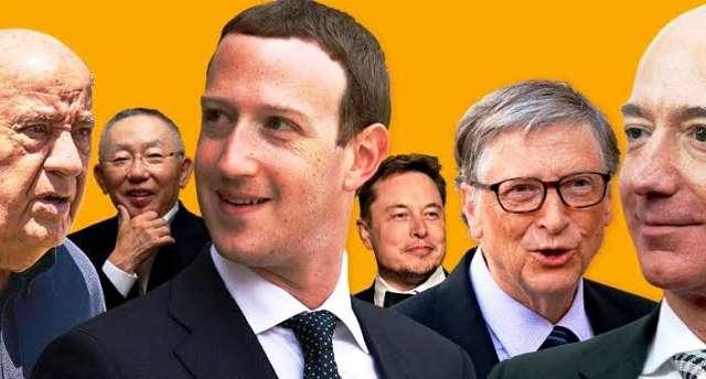 اعلام تازهترین ردهبندی ۱۰زن و مرد ثروتمند جهان