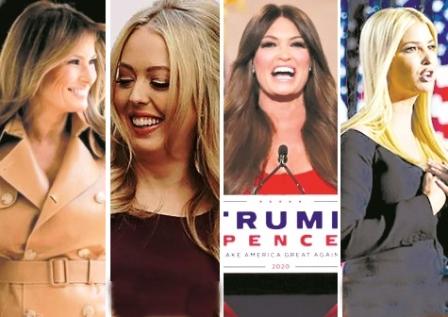 لشگر زنانه ترامپ در انتخابات ۲۰۲۰