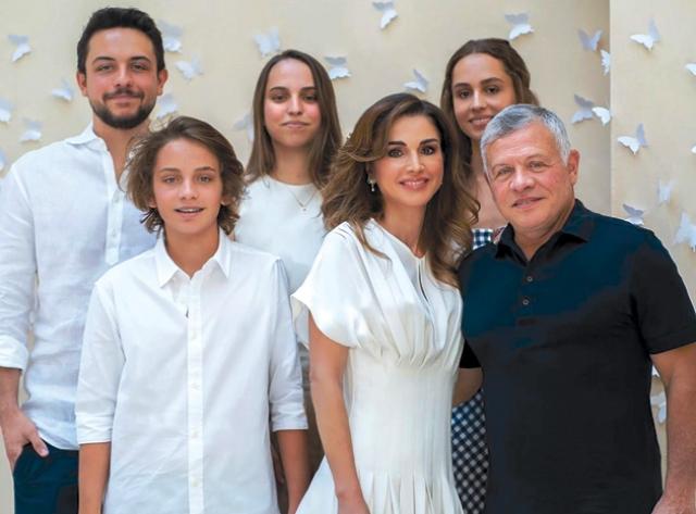 در حاشیه ۵۰سالگی ملکه اردن