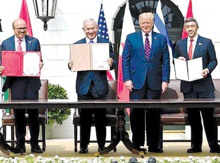 پنج نکته از توافق امارات و بحرین با اسرائیل