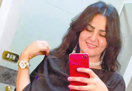 حضور خاص سما المصری در دادگاه