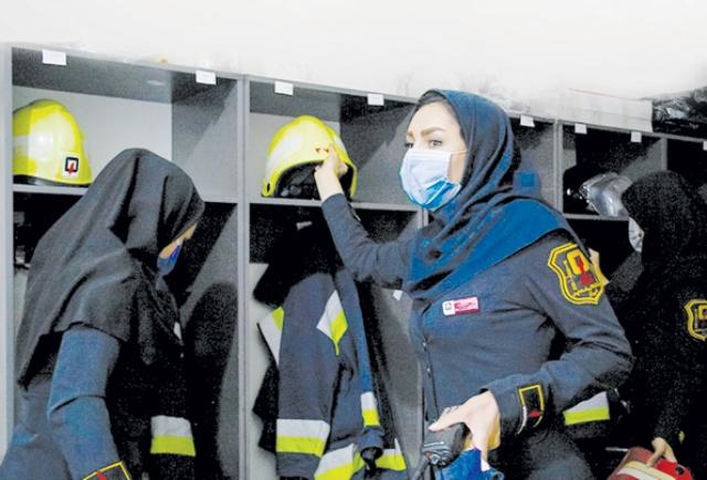 زنان «رسما» آتشنشان میشوند